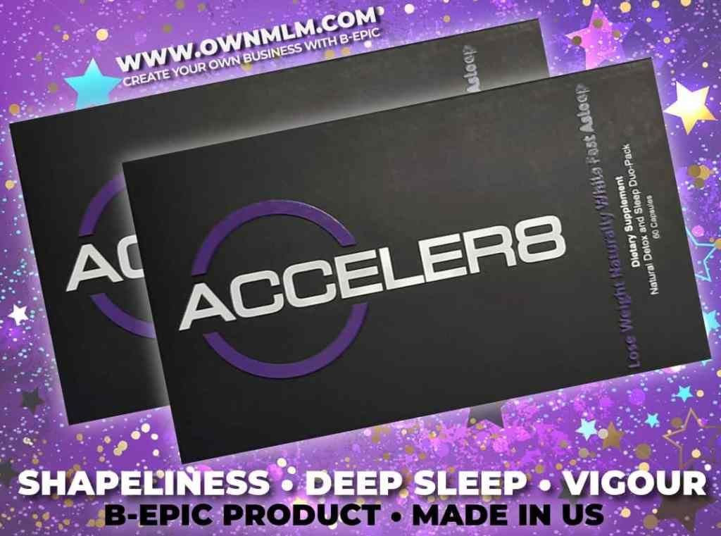 acceler8 - b-epic's dietary supplement