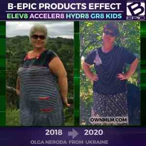 Bepic elev8 (before and after weight loss)