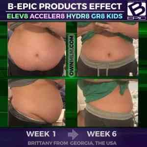 bepic trio elev8 acceler8 - weight loss progress