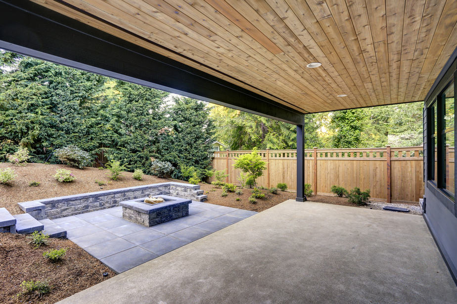 how to clean concrete patios without a