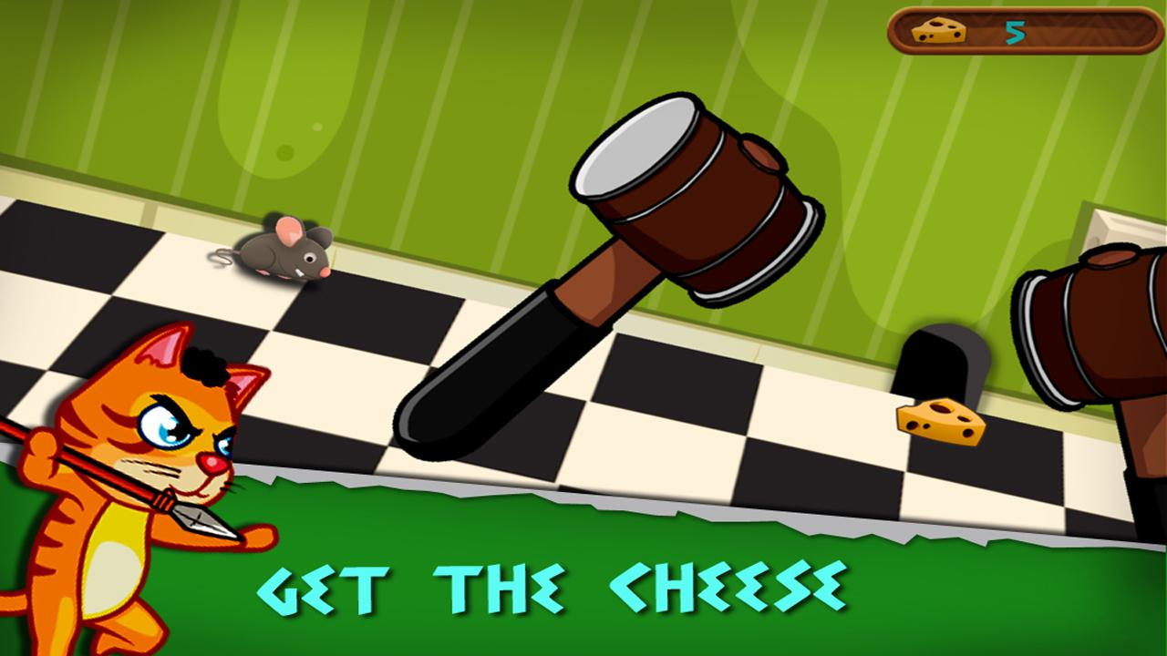 Rat Escape – Help dodge traps and grab the cheese