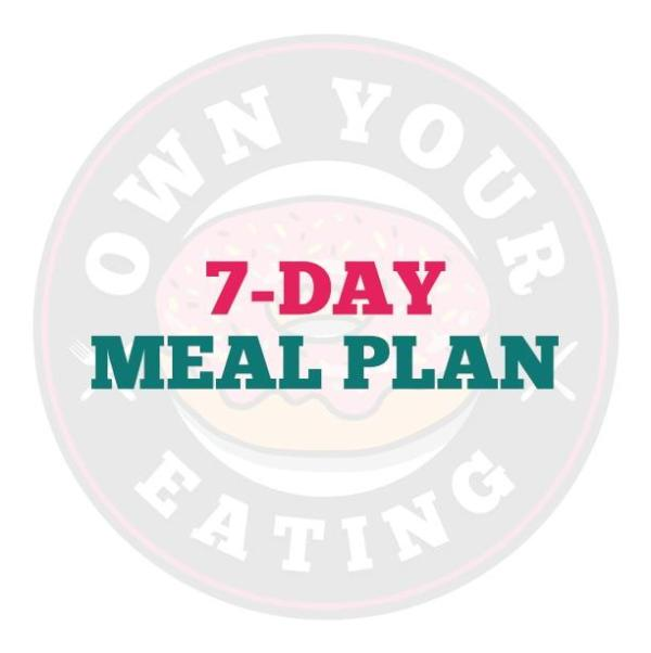 7-Day Meal Plan