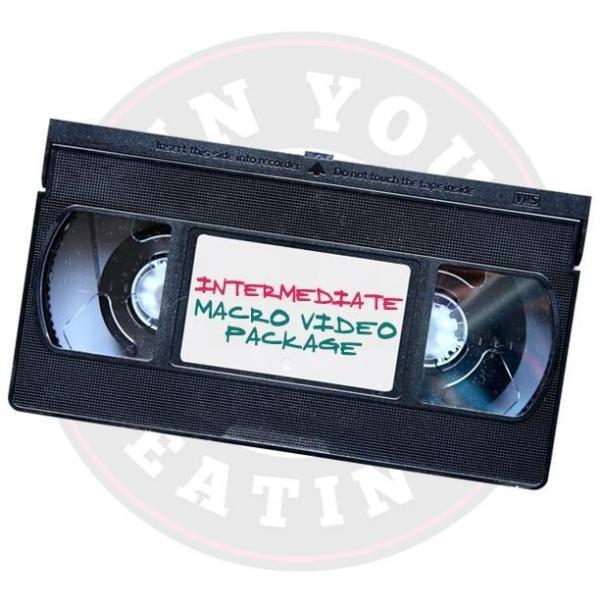 Intermediate Macro Video Package