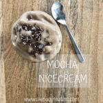 Mocha nice cream