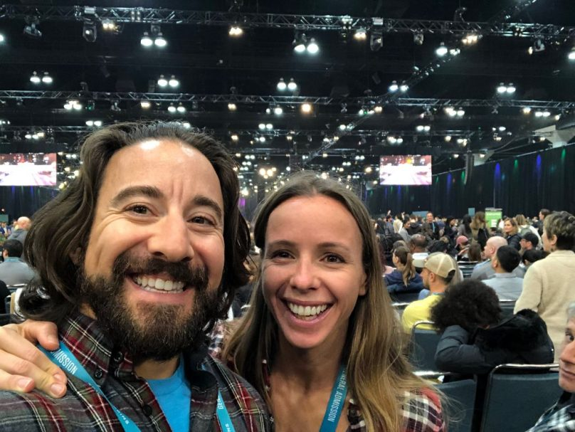 Jason & Roz at Unleash the Power Within