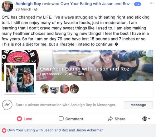 A. Roy facebook review