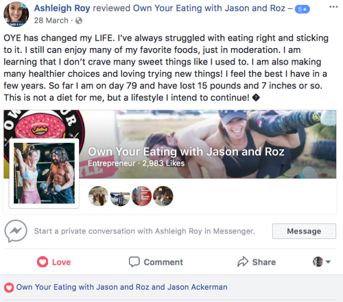 A. Roy facebook review
