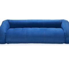 Anfibio Leather Sofa Bed Rust Colored Set Giovannetti Jeans Alessandro Becchi Owo