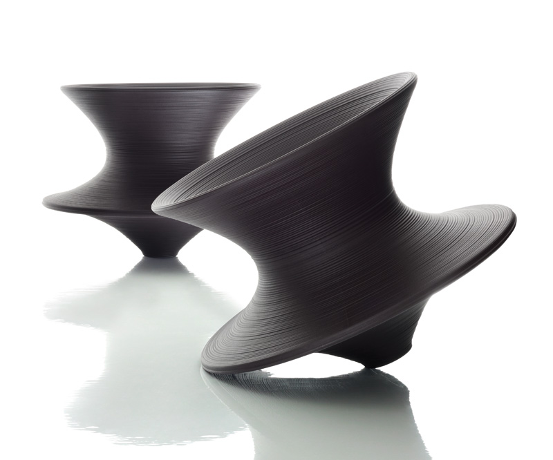 Magis SPUN ROTATING CHAIR  Thomas Heatherwick  owo