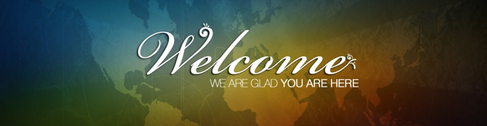 church welcome flyer