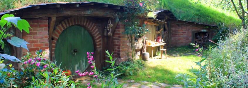 Hobbiton: Hobbit Haus mit liebevoll gestalteten Details