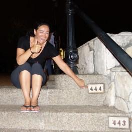 Guayaquil: Die 444 Stufen auf den Cerro Las Peñas sind geschafft und wir auch