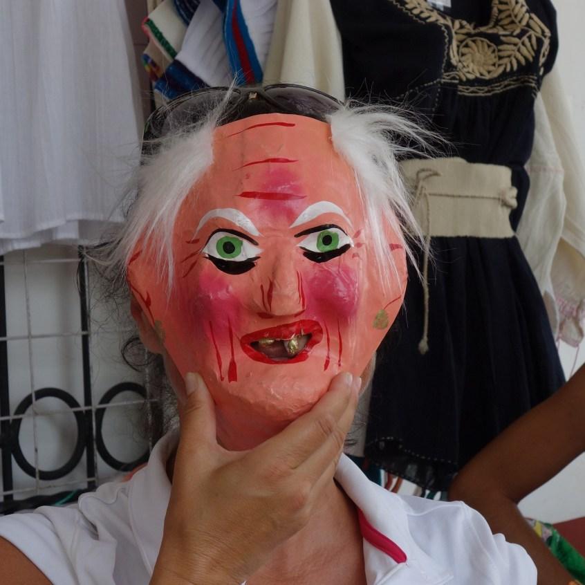 San Cristobal, Chiapa De Corzo: Masken gibt es hier an jeder Ecke - Warum auch immer?