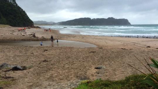 Coromandel, Hot Sand Beach: Trotz oder gerade wegen dem Regen eine tolles Vergnügen