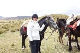 Cotopaxi Nationalpark - Otti und ihr Pferd