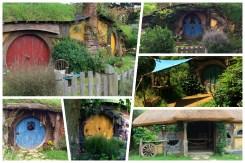 Hobbiton: Jedes Hobbit Haus sieht anders aus und ist mit viel Liebe zum Detail gestaltet
