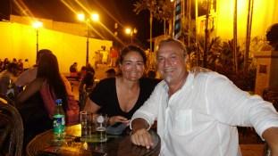 Guayaquil, Cerro Las Peñas: Ein letzter Drink in Ecuador