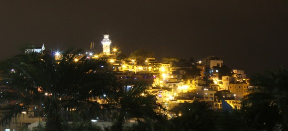 Guayaquil: Blick auf den Altstadthügel Cerro Las Peñas