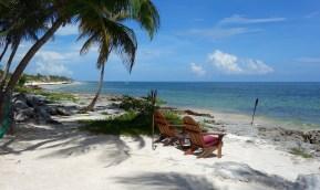 Mexiko, Tulum, Eco-Lodge Diamante K: Gibt es einen schöneren Platz um den Tag ausklingen zu lassen?