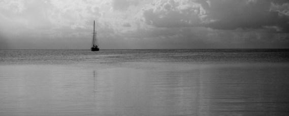 Belize, Caye Caulker: Impressionen am Morgen auf dem Weg zum Belize Barrier Reef