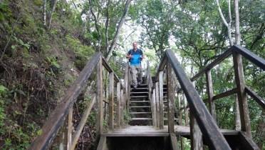 Guatemala, Tikal: Auf dem Weg nach unten