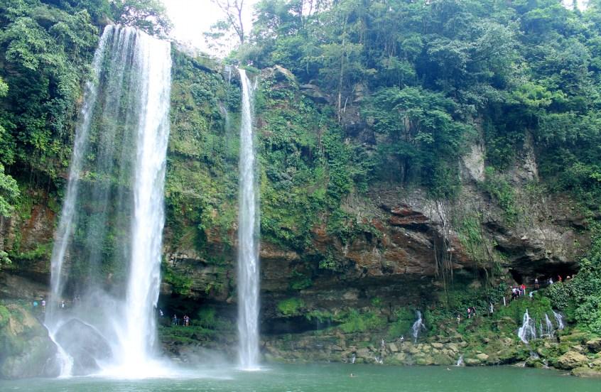 Palenque, Wasserfall Misol-Ha