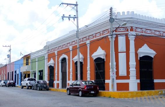 Campeche: Typisches Strassenbild