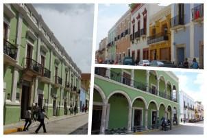 Campeche: Strassenansichten von der UNESCO Weltkulturerbe-Stadt
