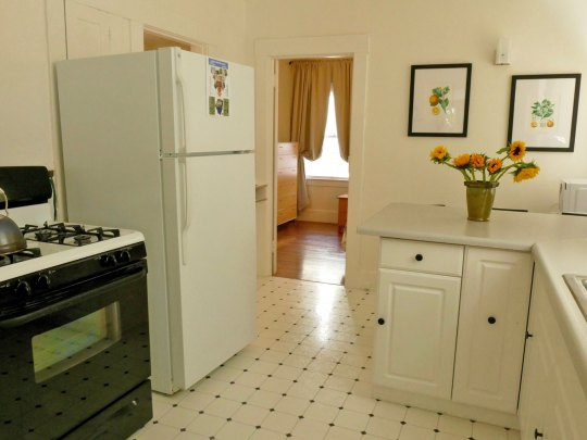 Kitchen, Apartment 1707, Oxford Property Management, Berkeley CA