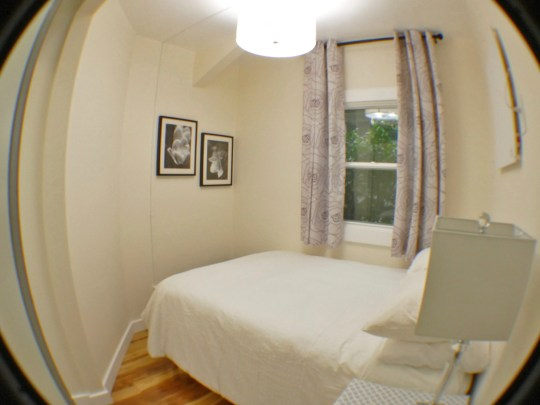 Oxford Apartment, The Pad, Bedroom with full bed