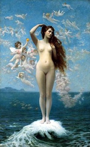 The Goddess of Love and the Golden Ratio