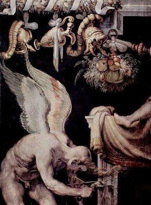 Kairos, depicted by Francesco Salvati.