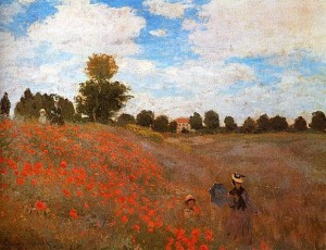 Renoir. Poppy Field.