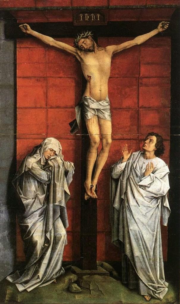 Crucifxion. Van der Weyden