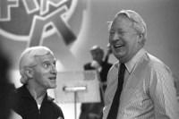 Jimmy Savile and Prime Minister Edward Heath