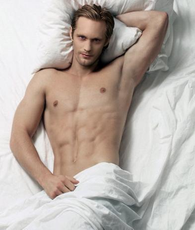 Eric in True Blood played by Alexander Skarsgard