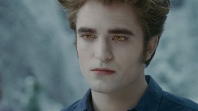 Vampires just aren't what they used to be. Robert Pattinson as the Vampire Edward Cullen in Twillight