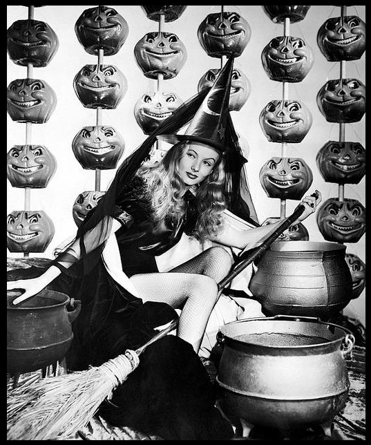 And finally a seasonal special: Veronica Lake in I Married A Witch