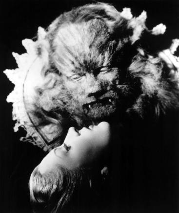 Jean Marais and Josette Day in La Belle et La Bete