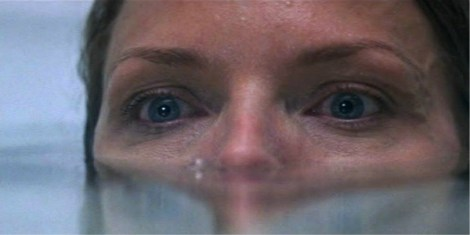 Michelle Pfeiffer in What Lies Beneath -- allegedly she is afraid of water!