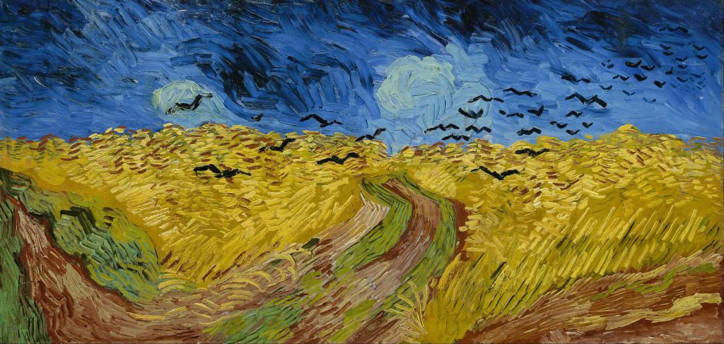 Wheatfield with crows (July 1890), Van Gogh, Van Gogh Museum Amsterdam