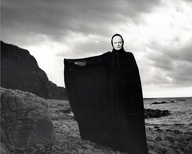 Death in Ingmar Bergman's Seventh Seal, made in 1957, two Saturn in Sag's agp