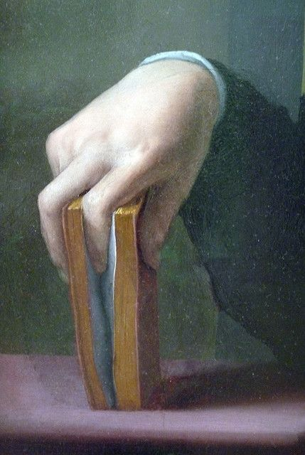 Detail from Portrait of a Young Man by Agnolo Bronzino