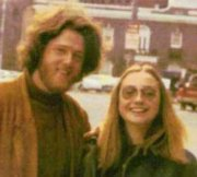 This famous picture of the young Clintons was taken in 1970. Both have Pluto in Leo.