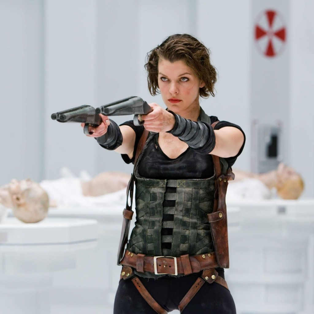 Milla Jovovich in Resident Evil Afterlife. Sagittarius Sun, Cancer Rising
