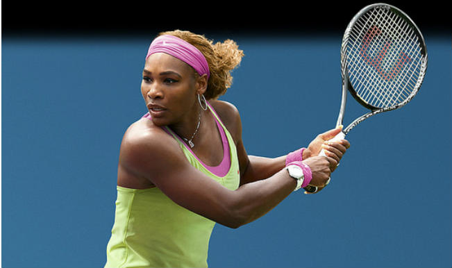Serena Williams, the greatest women's tennis champ of all time (IMHO). Sun in Libra, Taurus Rising.