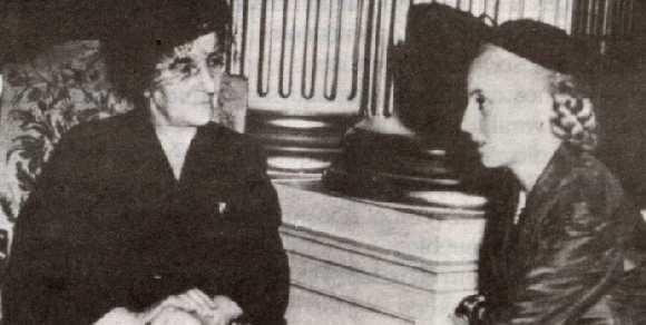 Evita and Golda Meir, a Venus in Gemini head to head.