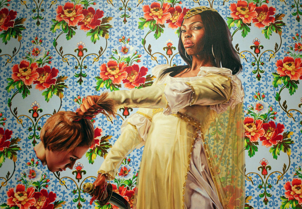 By Kehinde Wiley (1977- )