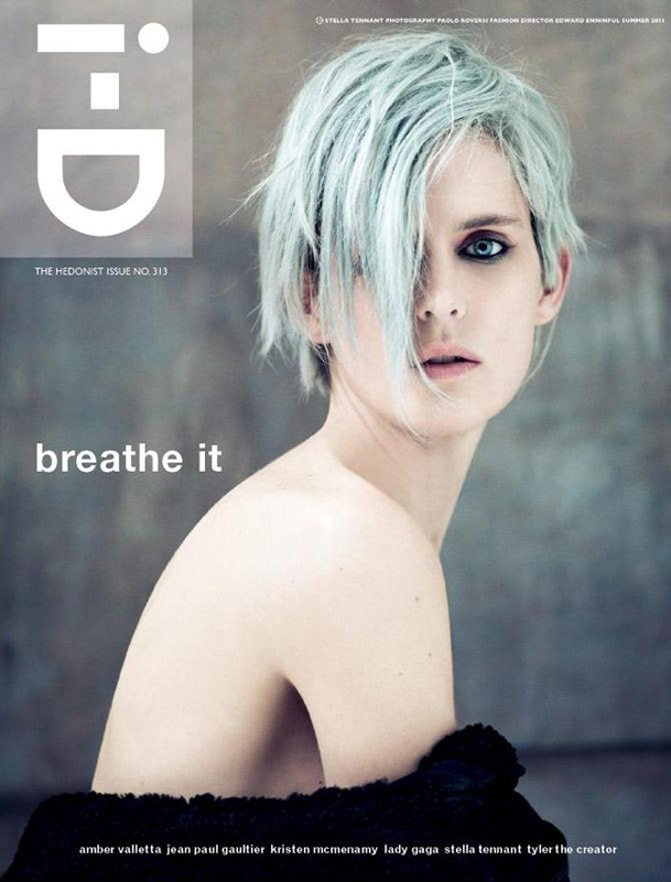 Stella Tennant on the cover of i-D (2011)