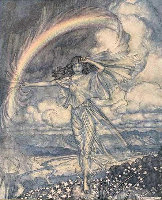 Summer Fairy. Arthur Rackham.